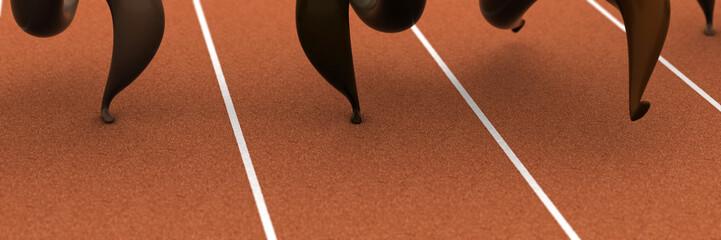 Course olympique