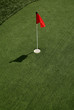 Red Flag on the Putting Green