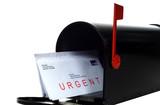 Urgent Letter poster