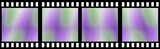 Colored Film Strip poster