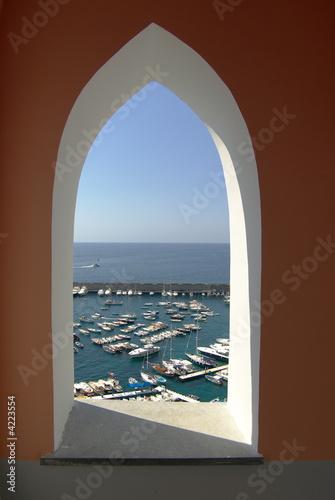 Amalfi finestra sul porto|4223554