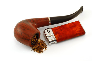 The tobacco-pipe and lighter2