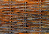 Aged Rattan Weave poster