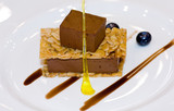 Malaysia  Kuala Lumpur: Culinaire 2007 : brownie mousse with flo poster