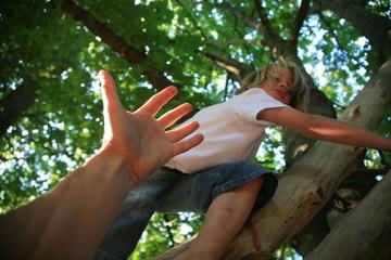 enfant main