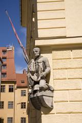 Statue on a building - Munich