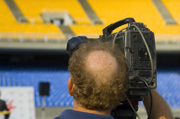 Camera man