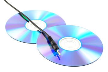 cd and jackplug