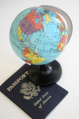 Passport and Globe