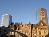 Historic Toronto City Hall in Canada poster