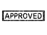 Office Stamp - Approval poster
