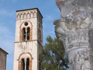 Ravello il campanile del duomo di Santo Pantaleone