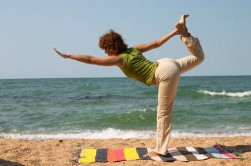 Natarajasana yoga pose