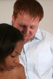 inter racial romance poster