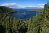 Beautiful Emerald Bay in Lake Tahoe, California, USA. poster