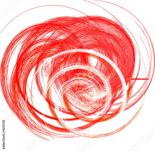 Aluminium Spiraal abstrakt Form aus Spiralen