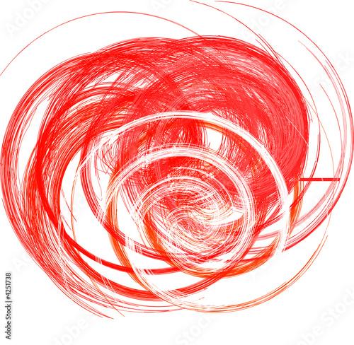Foto op Canvas Spiraal abstrakt Form aus Spiralen