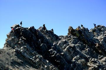 Climbing Rocky Ridge