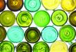 canvas print picture - wine bottles