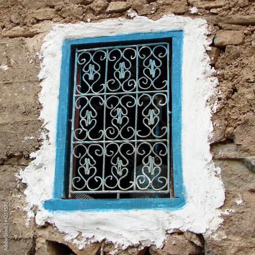 Fenetre traditionelle au maroc de delphotostock photo for Fenetre sur cour casablanca