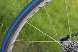 Bicycle wheel poster