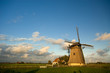 beautiful dutch windmill