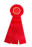 Award of a Red Ribbon, blank for your copy  poster