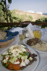 greek taverna lunch