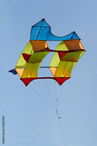 Kite in flight