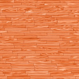 Illustration of plank for wood floor poster