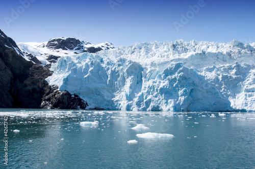 Foto Spatwand Gletsjers Hubbard Glacier