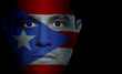 Puerto Rican Flag - Male Face