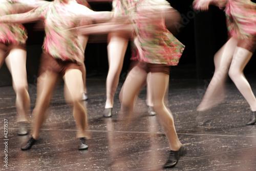 Leinwanddruck Bild Dance