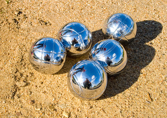 petanque balls