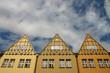 Restaurierte Fassaden in Danzig