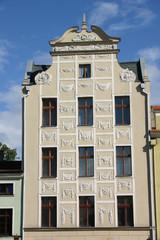 Historische Fassade in Torun