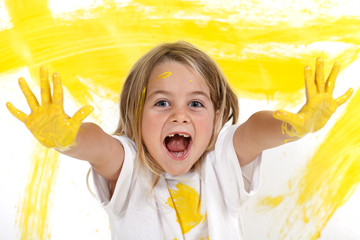 Peinture enfants et créativité