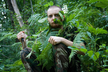 crazy forest guard