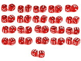 2 Dice - Every Combination poster