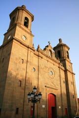 parroquia monumento de San Sebastian en Aguimes, Gran Canaria