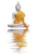 Bouddha et reflets