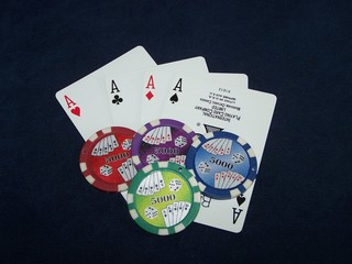 4 aces you win