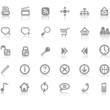 Web site and Internet icon set
