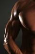 Leinwandbild Motiv Muskeln