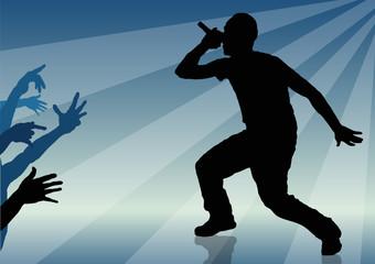 Rap singer