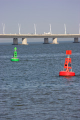 Maritime Channel buoys