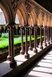 Mont Saint Michel cloister - 4302964