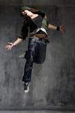 Fototapety dancer flying