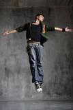 Fototapety dancer jumps