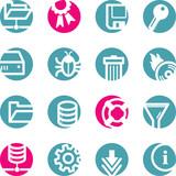 circle server icons poster